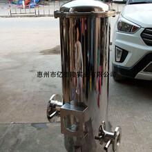亿德隆水处理专用304/316L不锈钢精密过滤器图片