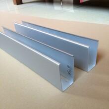 定做鋁晟外墻幕墻裝飾深灰色型材鋁方管設計合理圖片