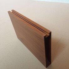 制造木纹U型铝方通铝格栅天花品质优良图片