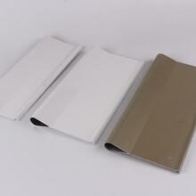 专业生产各种规格铝型材挂片滴水铝挂片,木纹滴水管图片
