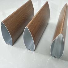 優雅外墻幕墻裝飾深灰色型材鋁方管款式齊全圖片