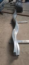 奢華鋁晟焊接弧形拉彎木紋鋁方通鋁方管規格齊全圖片