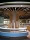鋁晟室內大廳波浪造型鋁方通規格圖