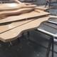 木纹弧形铝方通吊顶图