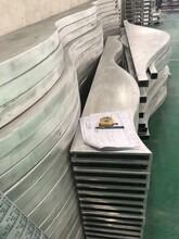 环保室内木纹波浪造型铝天花经久耐用图片