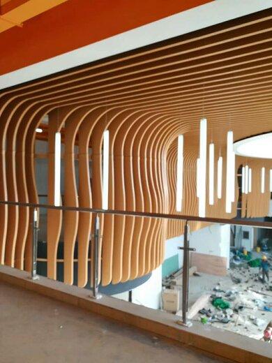 供應室內大廳波浪造型鋁方通量大從優