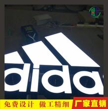 厂家直销树脂发光字亚克力发光工艺超级发光字楼盘大字图片