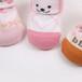 柳成行手工缝头立体卡通可翻边点胶防滑宝宝袜