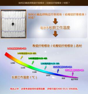 环形加热炉退火炉保温隔热用高纯型陶瓷纤维模块图片2