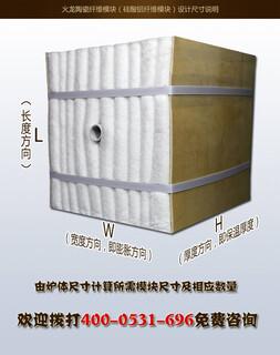 环形加热炉退火炉保温隔热用高纯型陶瓷纤维模块图片3