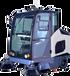 工厂车间全封闭式电动扫地车物业小区道路用全自动小型扫地机电瓶清扫车