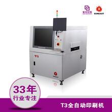 日东T3视觉锡膏印刷机smt全自动印刷机led锡膏印刷机