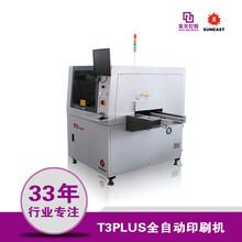 日东锡膏印刷机smt全自动丝网印刷机T3PLUS视觉印刷机