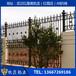 武汉户外别墅庭院铝合金围墙栏杆定制防锈免维护