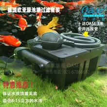 欧亚瑟8-15立方鱼池过滤器锦鲤池塘水净化设备水池循环过滤器套装