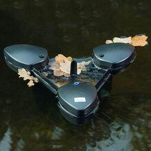 供應處理水池水面落葉的清理設備-歐亞瑟?SwimSkimCWS池塘撇渣器圖片
