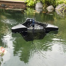池塘撇渣器哪款清理效果好,就用德國歐亞瑟大型池塘撇渣器適用50平方圖片