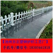 新疆博尔塔拉pvc塑钢护栏厂家直销图片