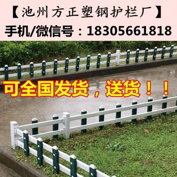 荆州区pvc绿化护栏