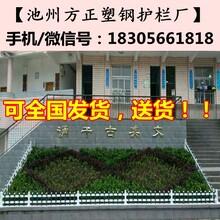 南通海安县pvc花坛护栏价格图片