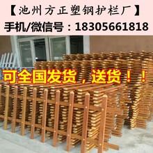 芜湖无为县pvc塑钢护栏图片