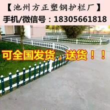 汝南和孝镇草坪护栏-pvc围栏工程图片