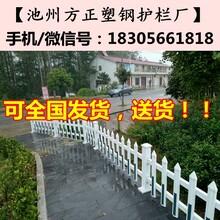 眉山市仁寿县pvc花坛护栏_护栏厂家批发江PVC塑钢护栏厂:图片