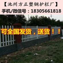 池州青阳围墙护栏_青阳容城镇PVC院墙护栏-塑钢围栏图片
