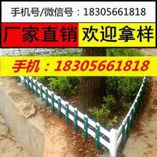 河南光山县社区花坛花池围栏,塑钢栅栏图片