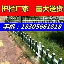 江西PVC护栏厂咸宁嘉鱼县pvc栅栏图片