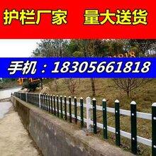 江苏扬州广陵区社区花坛花池围栏,pvc护栏型材图片