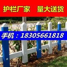 安徽蚌埠龙子湖区pvc围栏,草坪护栏图片
