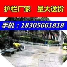 花坛栅栏//濮阳华龙园区围墙护栏工厂围栏/-厂家在哪里?图片