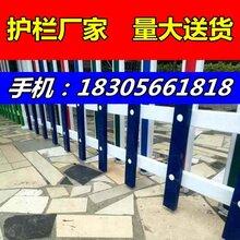 草坪pvc护栏//五河县(蚌埠)护栏/-护栏安装指导,送货图片