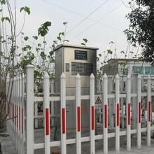 自贡市变电站所pvc护栏/-现在买护栏真划算图片