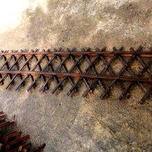 太和竹栅栏碳化竹栅栏乡村美化系列图片
