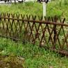 竹制品供应:郑州竹子护栏花池竹篱笆围栏