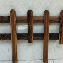 滁州碳化木围栏景区竹围栏皖南山区竹护栏图片
