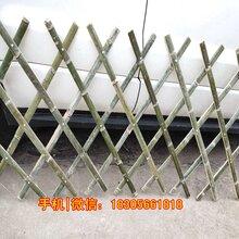 淮北相山区公园竹栅栏庭院围栏图片展示图片