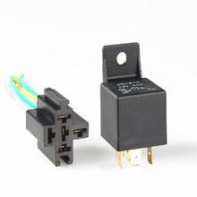 5V12V40A电动车继电器汽车摩托车接线GPS定位器远程断油断电
