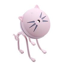 创欧科新款厂家直销爆款可爱猫咪加湿器创意迷你USB萌宠加湿器