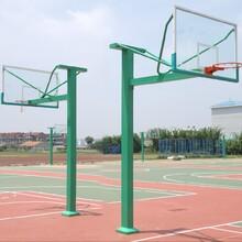 地埋式篮球架安装图片
