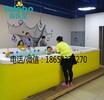 户县母婴店游泳池价格钢结构组装池空气能加热设备