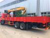 东风后八轮配徐工三一10吨12吨14吨随车吊起重机价格优惠