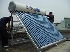 超导太阳能热水器图片