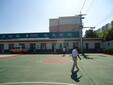 丙烯酸篮球场建设弹性丙烯酸篮球场建设图片