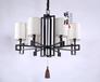 广州新中式灯饰次卧现代中式吊灯布艺新中式灯具
