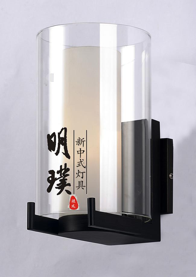 展厅新中式壁灯明璞新中式灯具新中式灯饰品牌