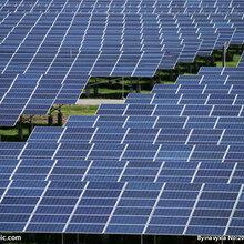 韩华单晶400瓦太阳能光伏板发电板电池板组件图片