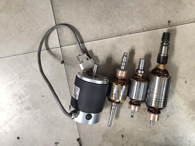 苏州直流电机转子维修绕线圈定子更换维修换向器维修图片